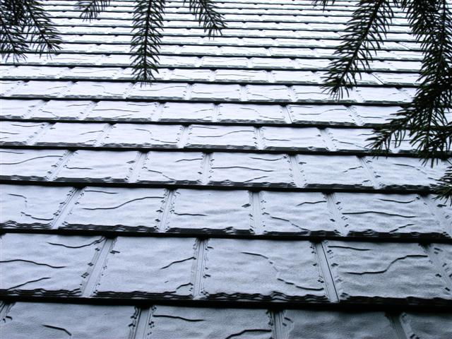 Steel Shake Slate Roofing